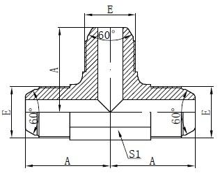 विजेता मानक एके फिटिंग रेखांकन